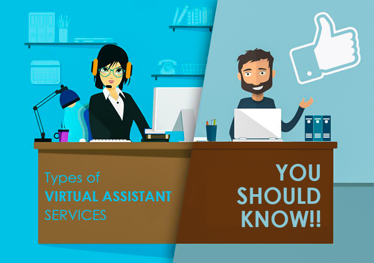 Types of Virtual Assistant Services